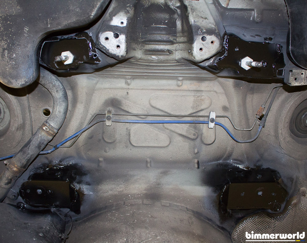 BimmerWorld E46 Rear Subframe/Chassis Reinforcement Kit