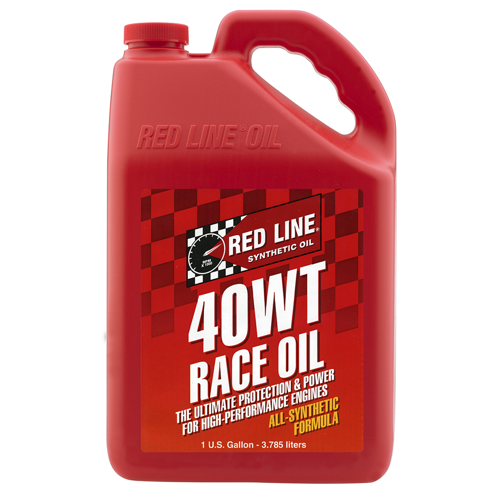 Red Line Racing Engine Oil 40wt Gallon