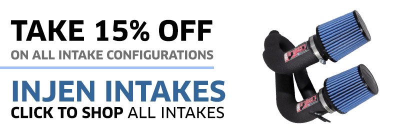 15% Off Injen Intakes for BMW
