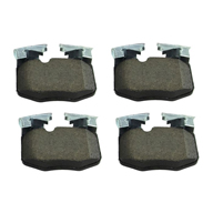 Front /& Rear Set for 01-02 BMW E46 M3 Hawk Street 5.0 Brake Pads
