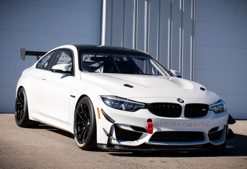 Genuine BMW M4 GT4 Race Wheel - 18x11 ET30