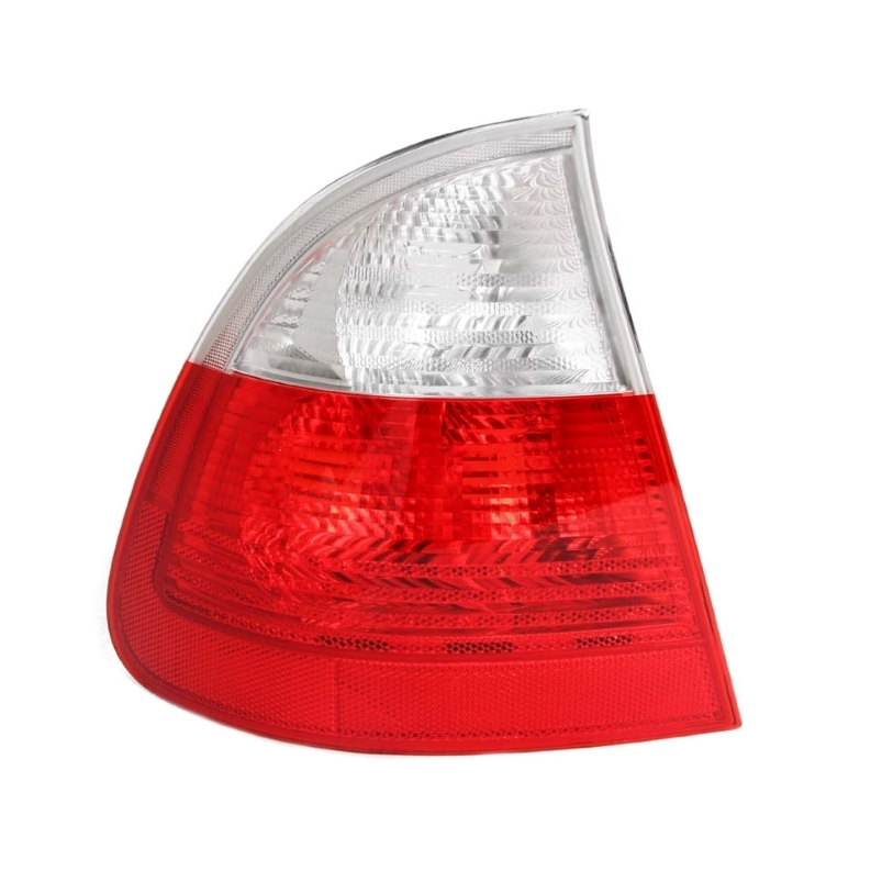 BMW E46 Wagon Clear Euro Taillight, Left Outer