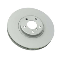 For BMW E53 X5 4.8is Pair Set of 2 Front Brake Disc Rotors ZIMMERMANN COAT Z