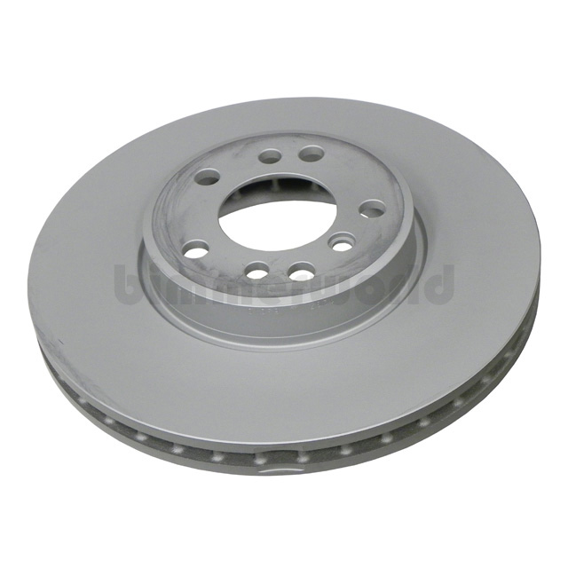 Bmw Z4 Brake Pad Replacement: Front Brake Rotor, Zimmermann Coated