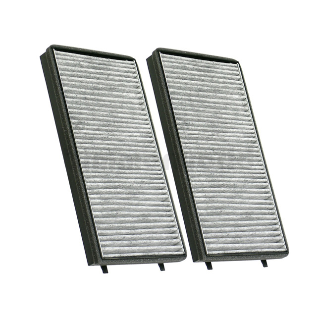 Activated Charcoal Cabin Air Filter Set (Microfilter) - E65 745Li 750i  750Li 760Li (64119272643)