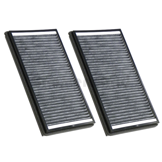 Activated Charcoal Cabin Air Filter Set Microfilter