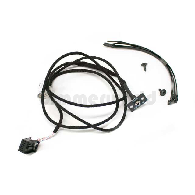 genuine bmw radio auxiliary input kit - e60 e63