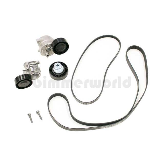 NEW BMW E39 E46 E53 Drive Belt Kit OEM ContiTech ADK0046P