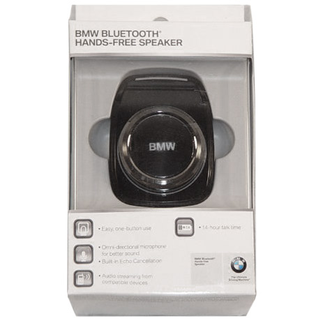 Genuine BMW Hands-Free Bluetooth Speaker with Microphone