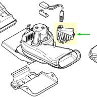 Strange Bmw Final Stage Unit Blower Resistor Rear Blower E39 E38 X5 Wiring Cloud Hisredienstapotheekhoekschewaardnl