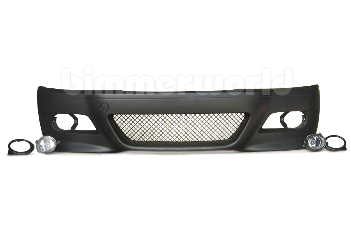 E46 M3 Style Front Bumper With Fog Lights