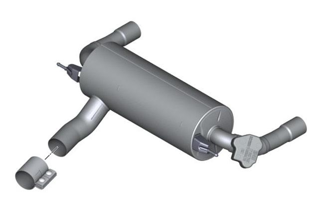 BMW M Performance Exhaust - for Standard Bumper - F22 M235i F30 335i