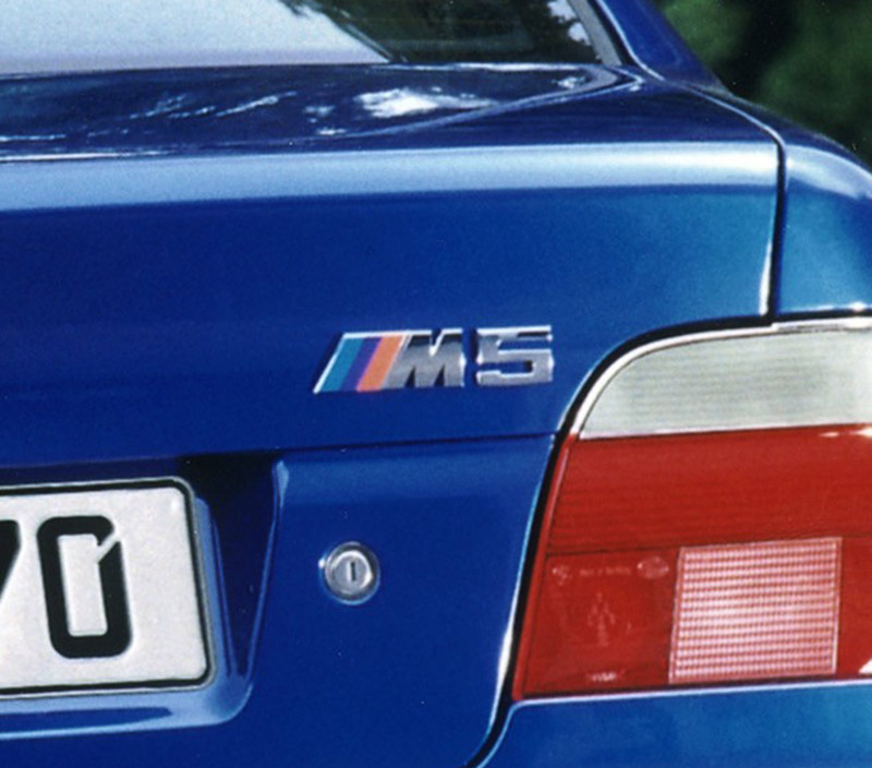 Bmw Z3 Hatch: BMW ///M Badge