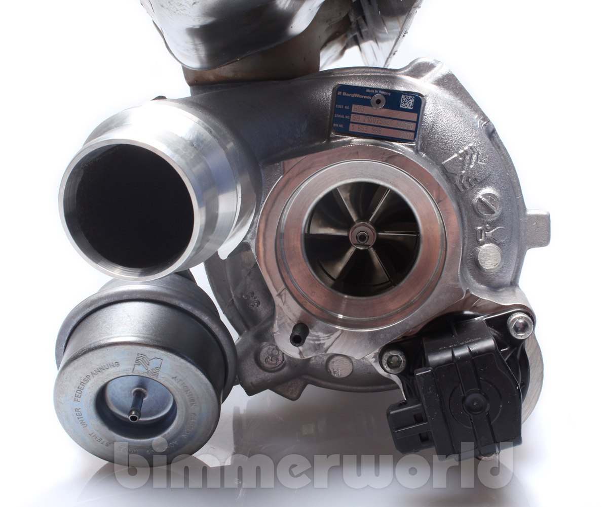 Bmw S85 Twin Turbo Kit: OEM BMW Turbo Charger