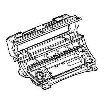 51168230902 Genuine BMW Radio Mounting Bracket