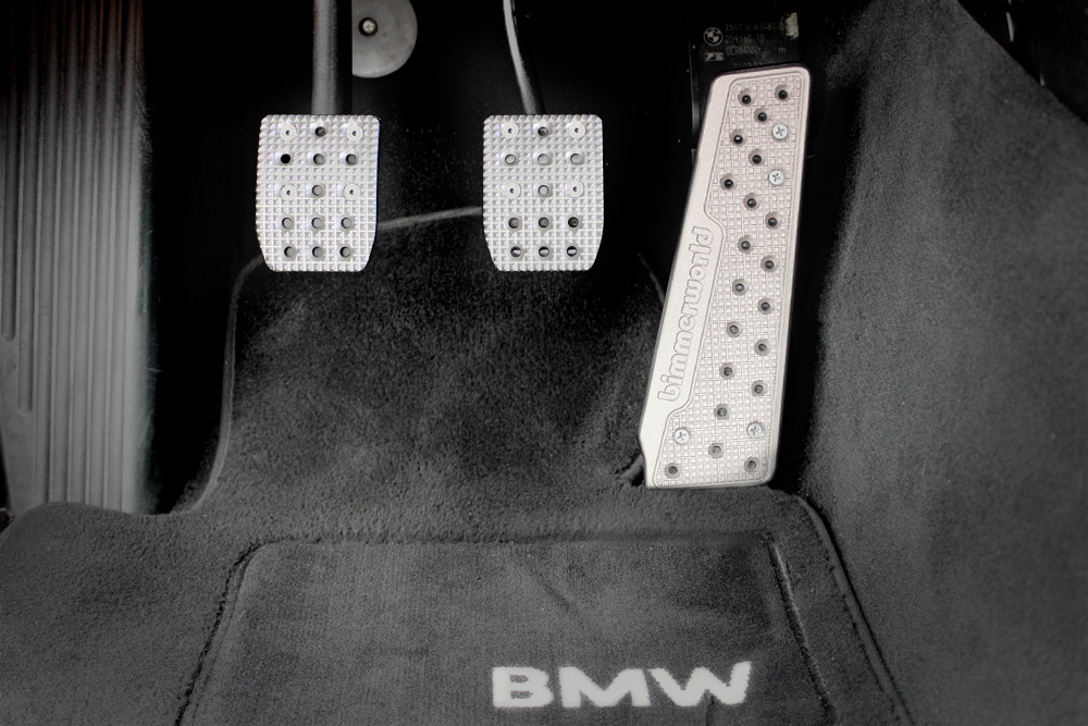 BimmerWorld BMW Pedal Set - Manual Transmission