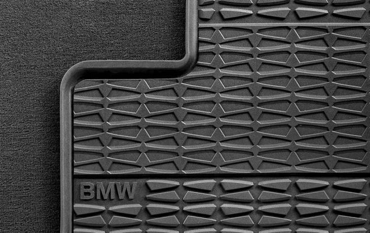 Bmw Rubber Front Floor Mats Black F25 X3 51472240940