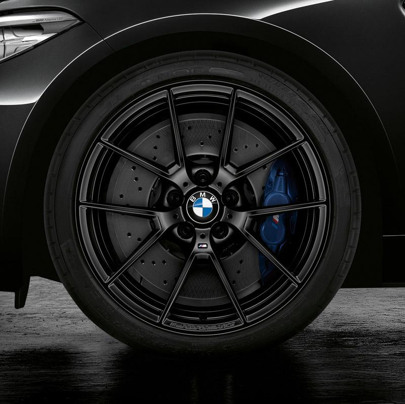Used Bmw M4 >> Genuine BMW F8X M2/M3/M4 Style 763M Black 19x10.0 ET40 Rear Wheel