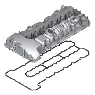 Valve Cover Kit E82 135i 1m E9x 335i E60 535i E71 X6