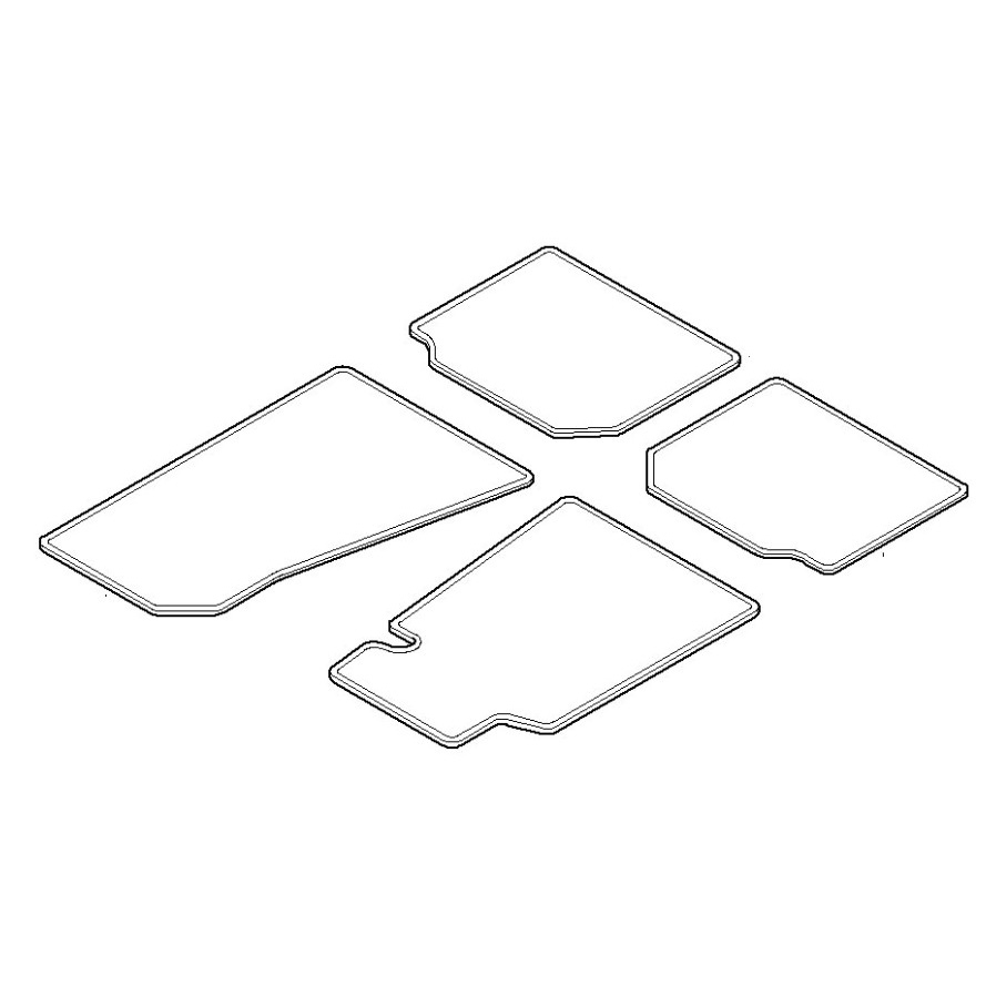 Genuine Bmw Floormat 82110021272