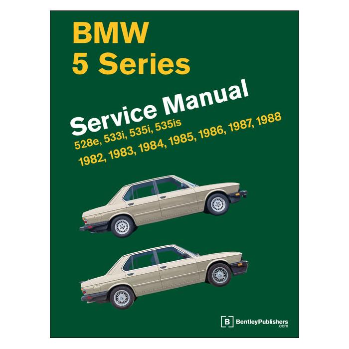 bmw 518i 1985 repair service manual