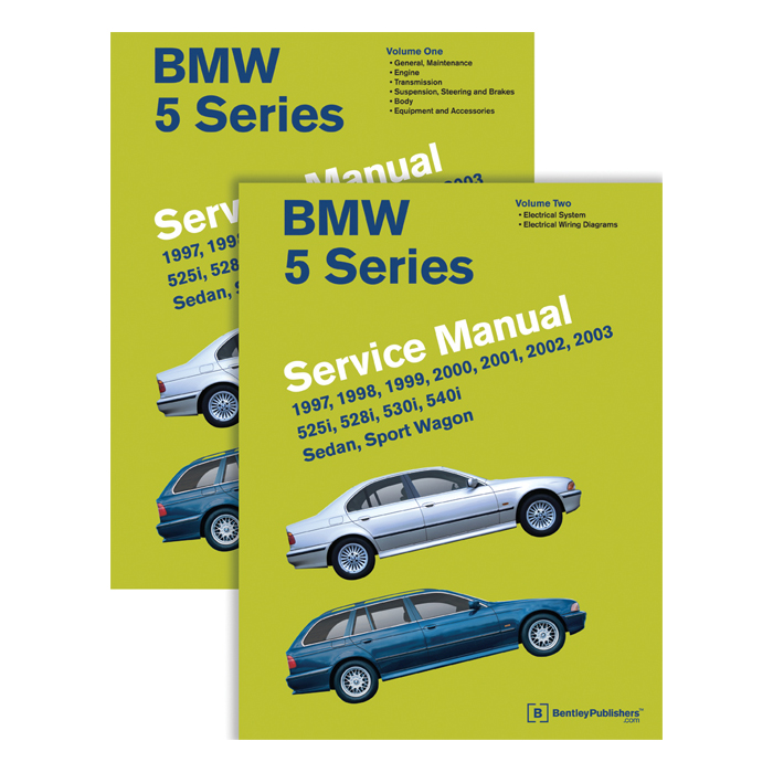 bentley service manual e39 97 03 5 series 2 volume rh bimmerworld com