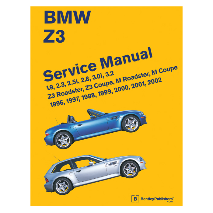 bentley service manual z3 including mz3 96 02 rh bimmerworld com BMW Sports Car BMW Z3 Series