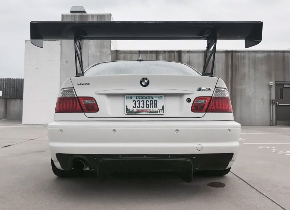 Bimmerworld E46 M3 Race Exhaust Kit By Magnaflow Straight Pipe Diffuser Exit