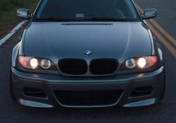 bmw 330ci 2004 front bumper