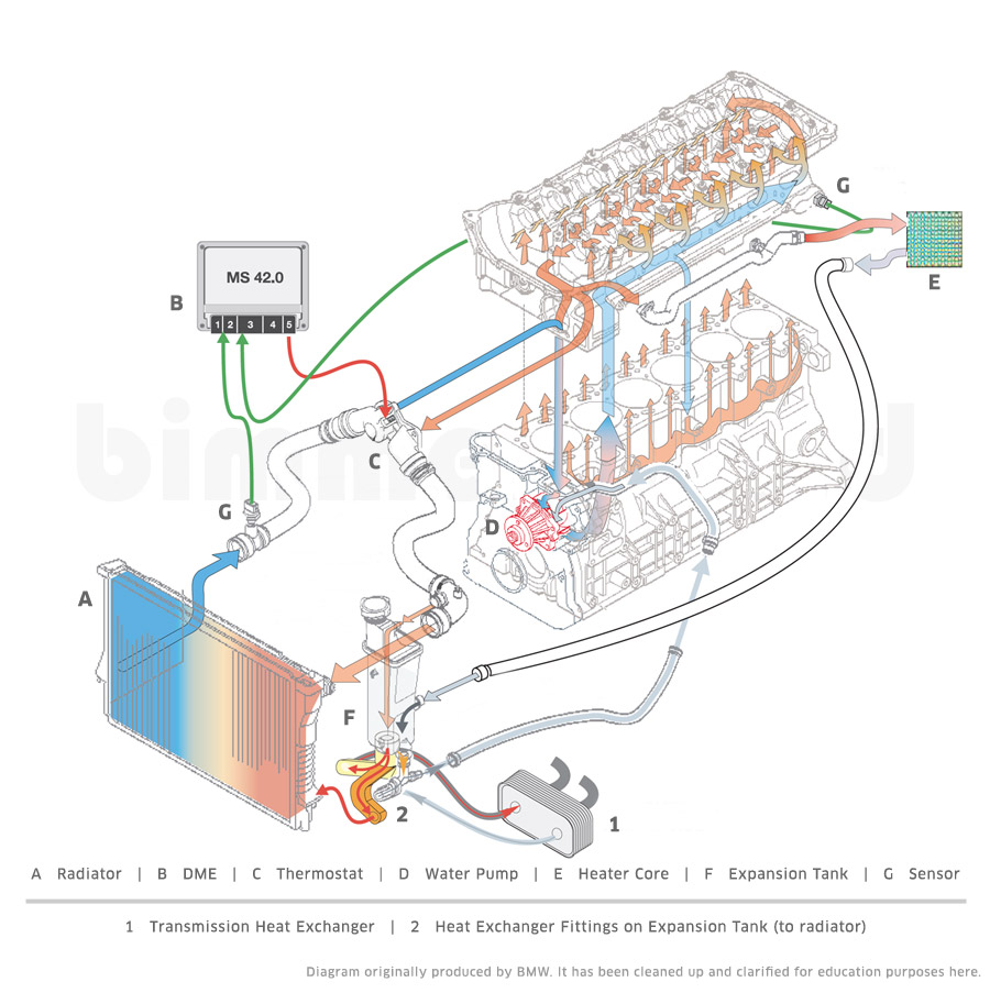 2000 Bmw 328i Engine Diagram Cooling - Wiring Diagram Center