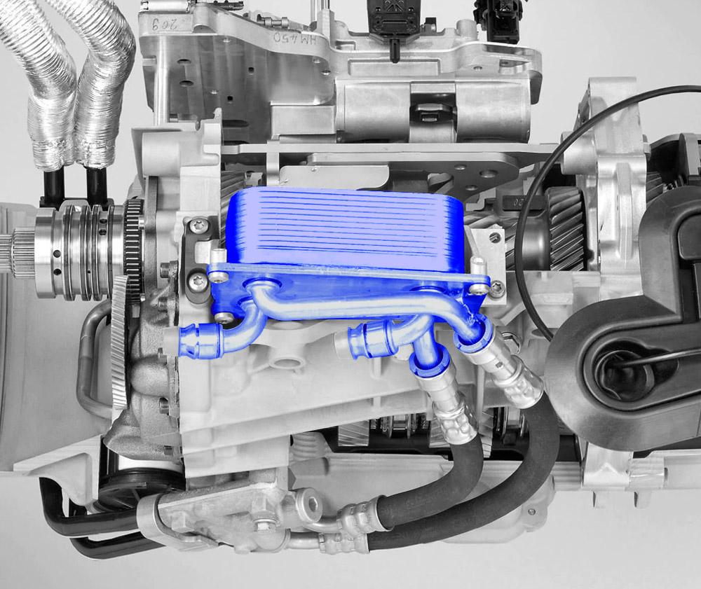 DCT Transmission Heat Exchanger - E9X M3 DCT