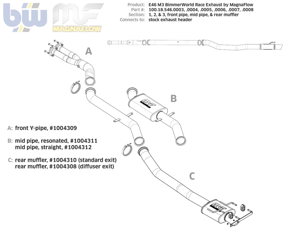 E46 M3 Bimmerworld Race Exhaust Engines Ignition System Diagram