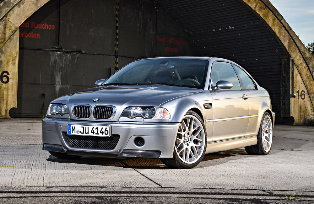 Genuine BMW E46 M3 CSL Style 163M 19x8.5 ET44 Front Wheel