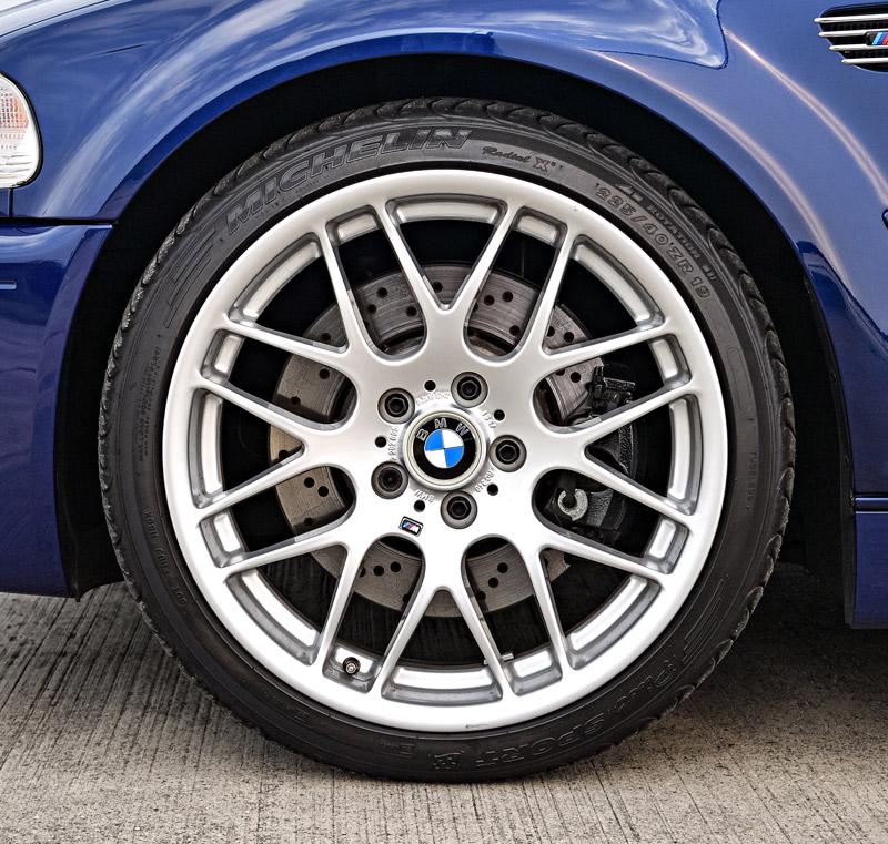 Genuine Bmw E46 M3 Zcp Style 163m 19x8 Et47 Front Wheel