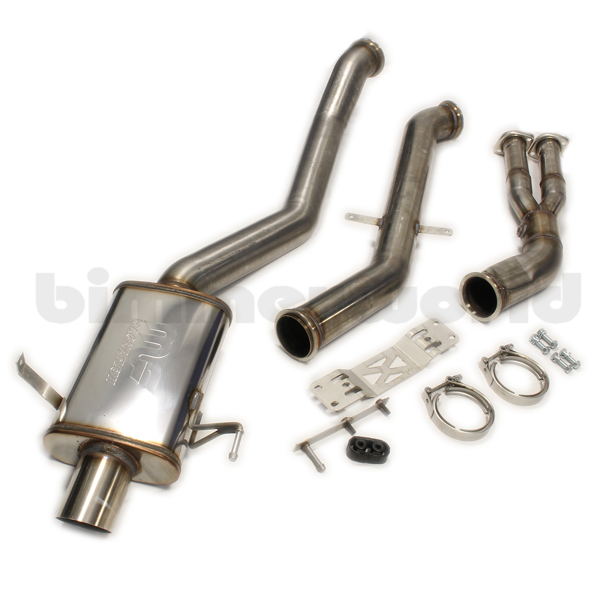 E46 M3 Bimmerworld Race Exhaust Bmw Wiper Motor Replacement Repalcement Parts And Diagram Kit By Magnaflow Straight Pipe Diffuser Exit