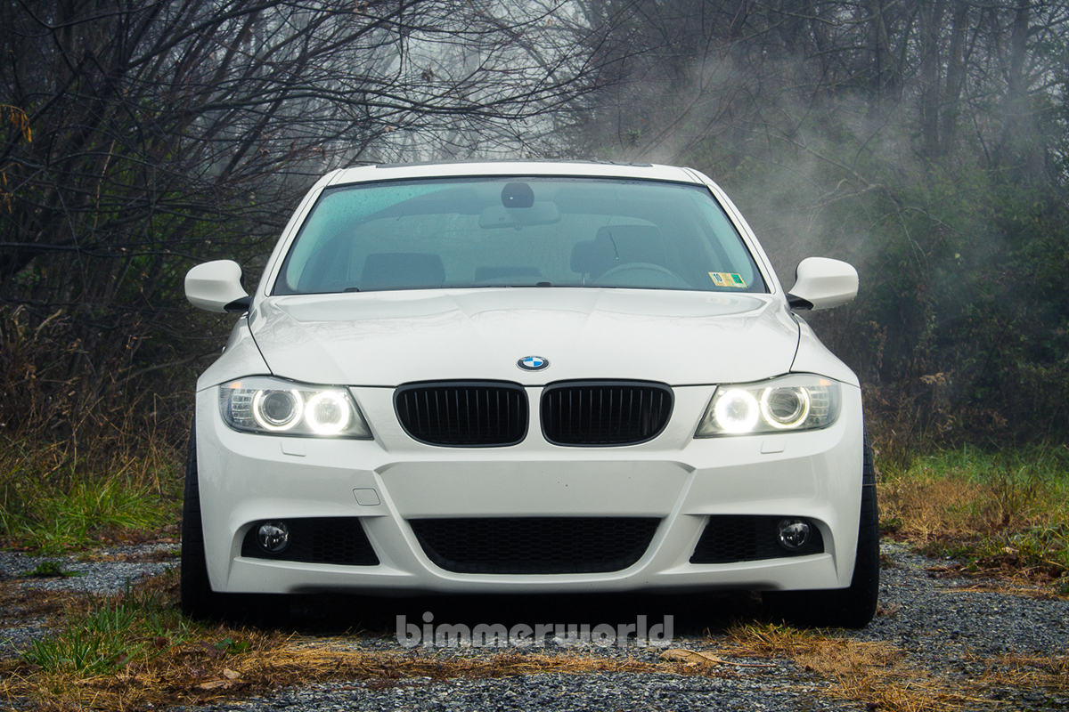 Bmw M Tech Replica Front Bumper Kit E90 E91 Lci 2009 2010 2011