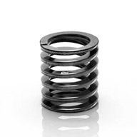 """Eibach 0600.225.0525 Coil-over Spring 6/"""" Length 525 lbs//in Rate Red Powdercoated"""