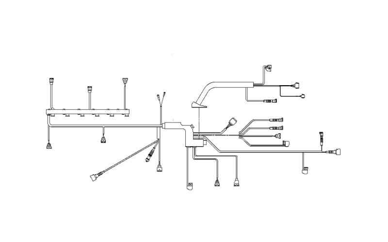 Main Engine Wiring Harness  2003 E46 325i  330i  Ms43