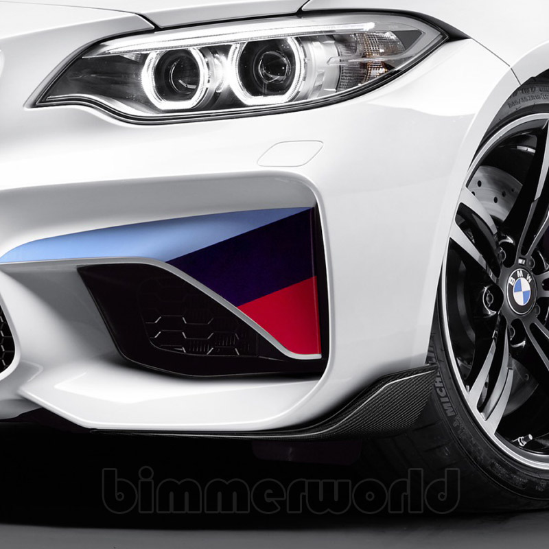f87 m2 bmw m performance carbon fiber front winglets pair. Black Bedroom Furniture Sets. Home Design Ideas