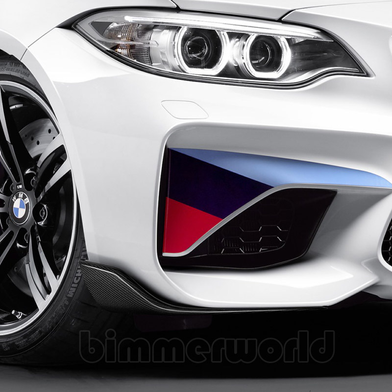 f87 m2 bmw m performance carbon fiber front winglet. Black Bedroom Furniture Sets. Home Design Ideas