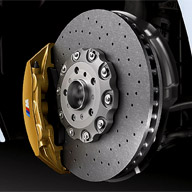 Rear Drilled /& Slotted Brake Rotors And Ceramic Pads For BMW 4.4i 4.6is 4.8is