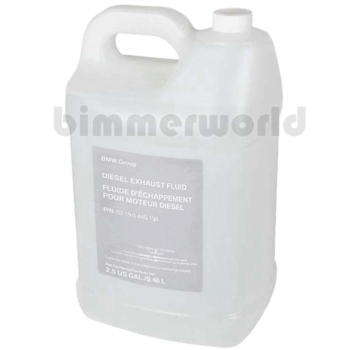 Genuine Bmw Diesel Exhaust Fluid Adblue 2 5 Gallon