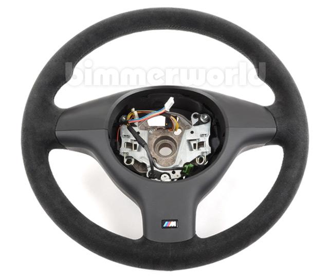 Bmw Motorsport E46 Sport Alcantara Steering Wheel W O Multi Function