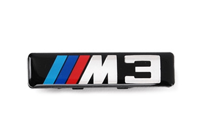 bmw fender side gill emblem m3 logo emblem e46 m3. Black Bedroom Furniture Sets. Home Design Ideas