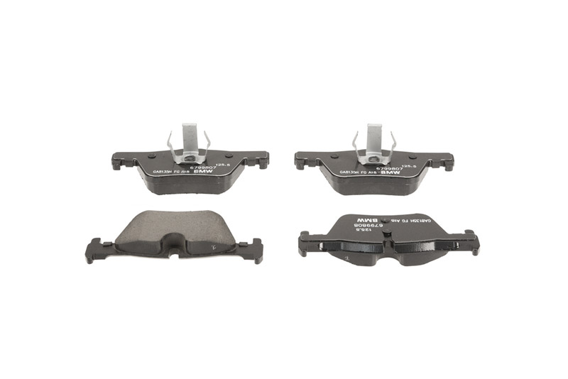 For BMW F22 F23 F30 F31 F32 F33 Front /& Rear Brake Pad Sets /& Sensors Kit Brembo