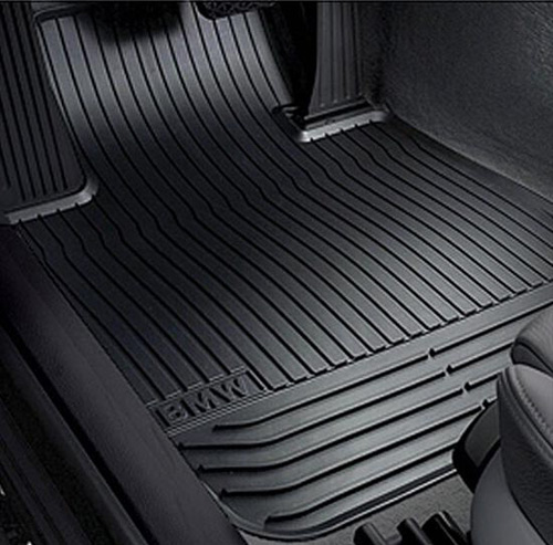 Weather Floor Mats >> Genuine Bmw All Weather Mats Front Black F10 5 Series 51472153725