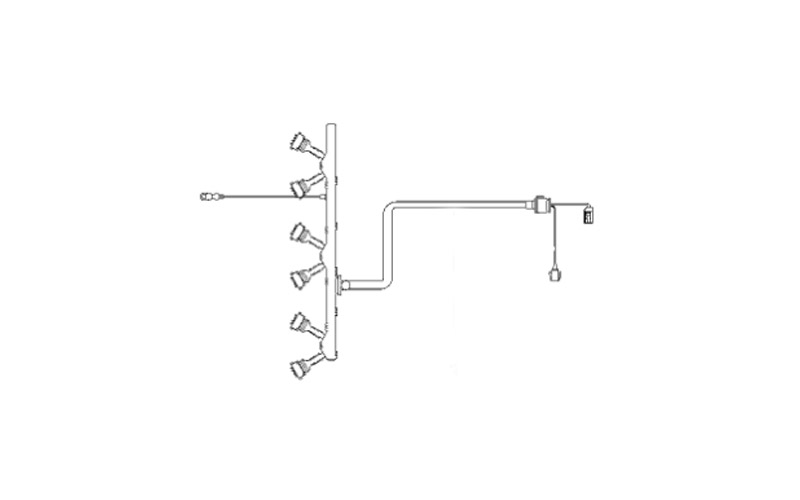 Ignition Coil Harness  2003 E46 325i  330i  Ms43