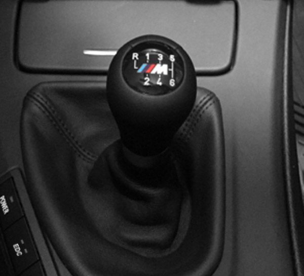F10 M5 Black Leather Shift Knob