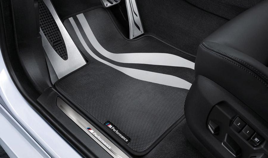 BMW Floor Mats >> Bmw M Performance Carbon Weave Floor Mats Front F15 X5 F16 X6