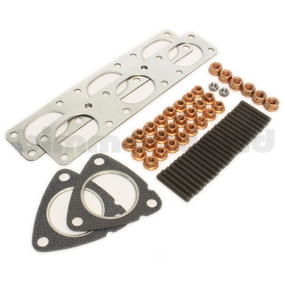 E36 Complete Header Install Kit - M50, M52, S50, S52 Engines